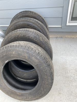 4 tires size 245 70R17 for Sale in Lehi, UT