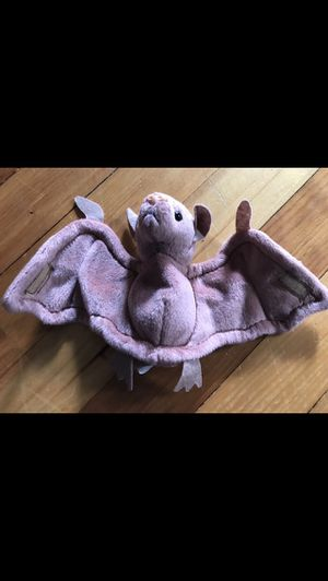 """Brown Bat Beanie Baby 5""""tall x 9""""wide for Sale in Milford, MA"""