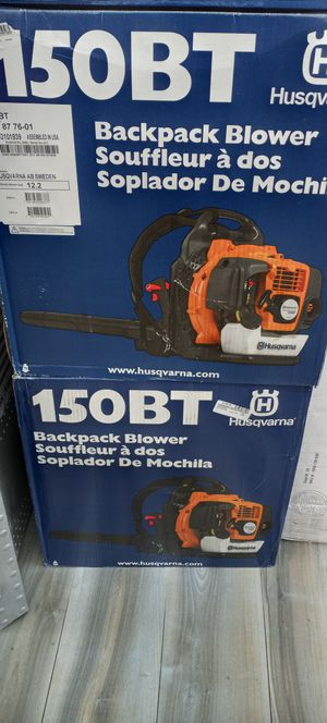 NEW HUSQVARNA 150BT GAS BACKPACK BLOWER for Sale in Fort Lauderdale, FL