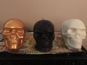 Skull Candle for Sale in Cartersville, GA