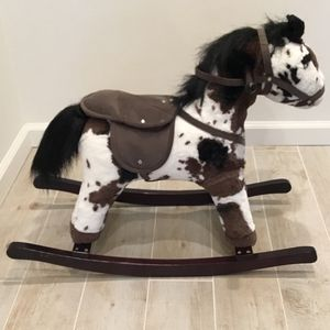 Kids Plush Toy Rocking Horse With Realistic Sounds for Sale in Woodmere, NY