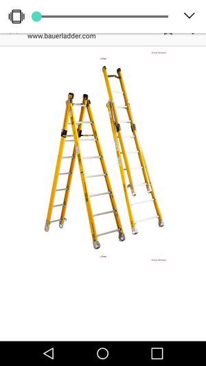 Bauer 14' extension ladder. for Sale in Salt Lake City, UT
