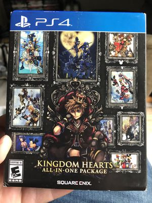 Kingdom hearts complete collection for ps4 for Sale in Sand Springs, OK