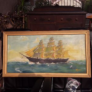 Painting of Sailboat for Sale in Los Angeles, CA