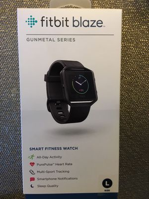 Fitbit Blaze Smart Fitness Watch (Special Edition Gunmetal) for Sale in San Diego, CA