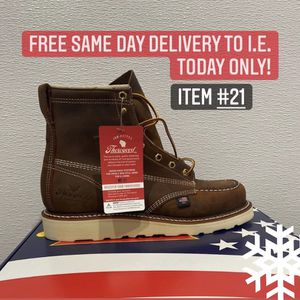 American Made Thorogood Soft Toe Work Boot/Bota De Trabajo Americana Thorogood Sin Casquillo for Sale in Highland, CA