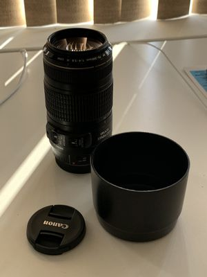 Canon 70-300mm for Sale in Queens, NY