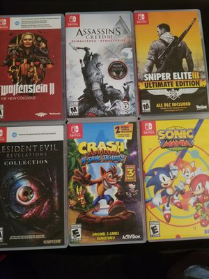 Nintendo switch games/2ds xl and games for Sale in Santa Monica, CA