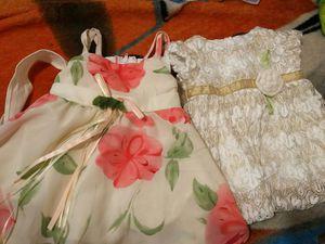 Vestidos para niña 0 a 3 meses for Sale in Apache Junction, AZ