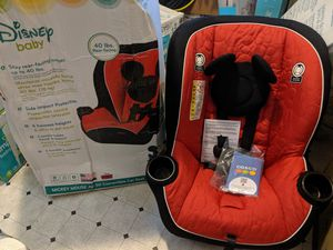 Disney Baby Mikey Mouse Convertible Car Seat for Sale in Sacramento, CA