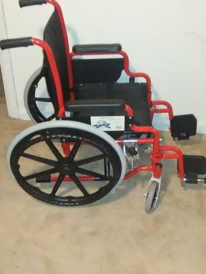 Child size wheelchair fire engine red for Sale in Wichita, KS