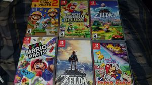 Nintendo switch games for Sale in Huntington Beach, CA