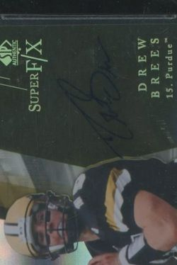 Drew Brees Autographed Card - MINT!!! for Sale in Normandy Park,  WA