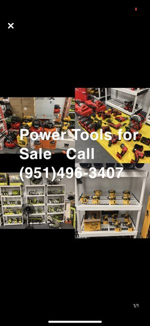 POWER TOOLS (NEW, LIKE NEW, USED) CALL FOR PRICES for Sale in Corona, CA