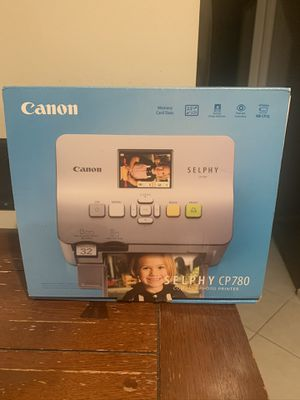Canon Photo Printer and Paper for Sale in Pembroke Pines, FL