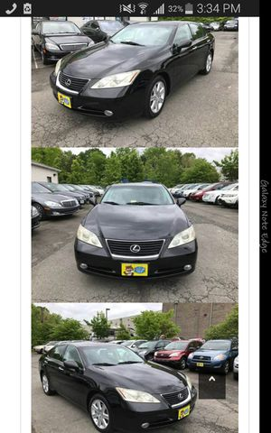 2007 Lexus Es350, black with black for Sale in Manassas, VA