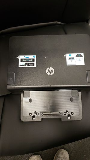 HP Advanced docking station for elitebook and probook for Sale in Fairfax, VA