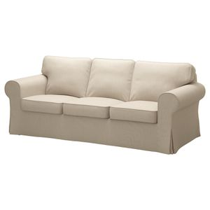 Moving sale! IKEA Ektorp Couch - USED with 2 slip covers for Sale in Bend, OR