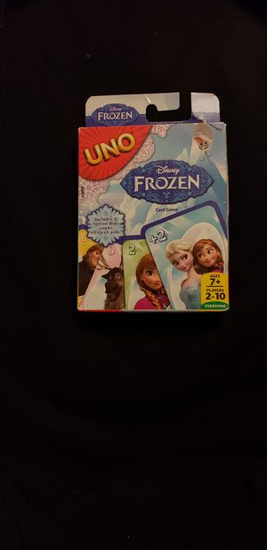 Disney Frozen Uno Kids Card Game Anna Elsa Toy Board Game COMPLETE for Sale in Las Vegas, NV