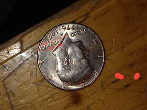1976 Kennedy half dollar San Francisco mint double dye for Sale in Grabill, IN