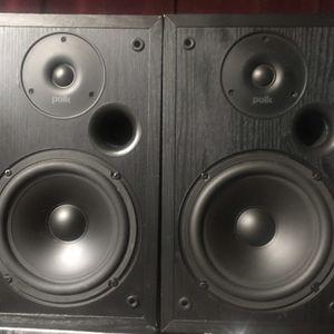 Polk Audio Shelf Speakers R20 for Sale in West Linn, OR