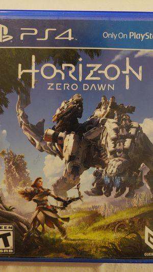 Horizon Zero Dawn ps4 for Sale in Bellevue, WA