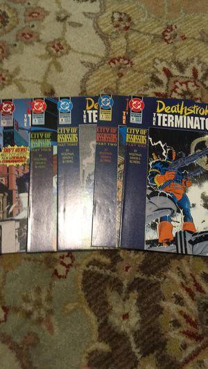 Comics deathstroke terminator 6-10 for Sale in San Antonio, TX