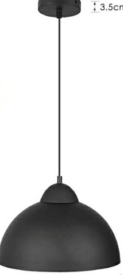 Hanging black lamp for Sale in Lincoln Acres, CA