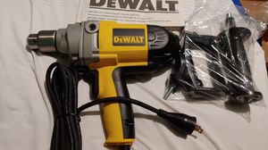 DEWALT 1/2 .SPADE HANDLE DRILL.DW130V.NEW. WITH VARIABLE SPEED. for Sale in Meriden, CT