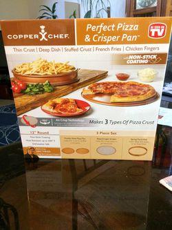 Copper Chef - Perfect Pizza & Crisper Pan for Sale in Burtonsville,  MD