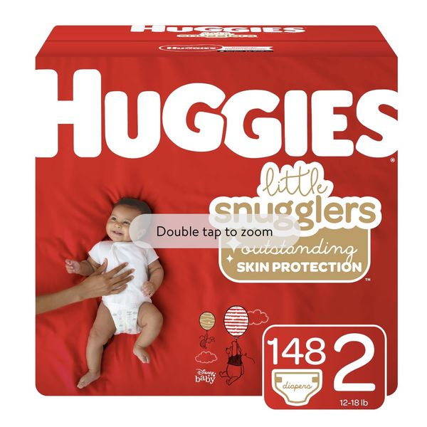 Huggies Lil Snugglers Without Box 156 Diapers