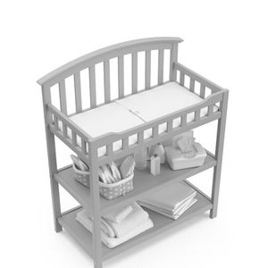 Graco Grey Changing Table W/ Pad for Sale in Philadelphia, PA