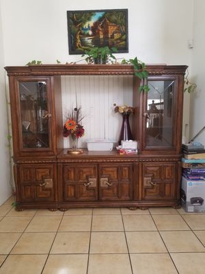 Entertainment center, China cabinet for Sale in Victorville, CA