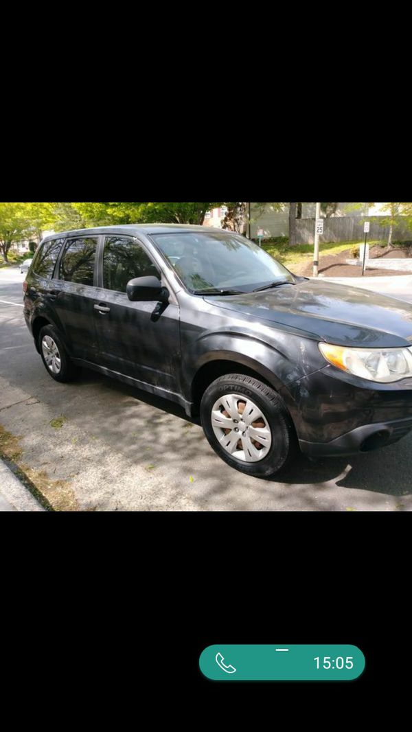 2009 Subaru Forrester AWD ,4 cylinders, 108 k miles ONE OWNER