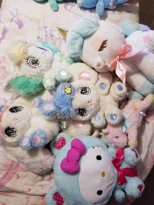 Sanrio, Amuse, Hello Kitty, Twinstars, PeroPero Sparkle Stuffed Toys for Sale in Tacoma, WA