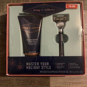 King C Gillette gift set for Sale in San Bernardino, CA