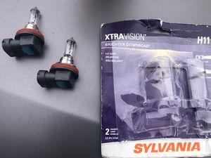 Silvania h11 headlight bulbs for Sale in Orem, UT