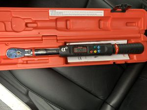 "Mac Tools 3/8"" Digital Torque Wrench 5-100 Ft. Lbs for Sale in Winterville, NC"