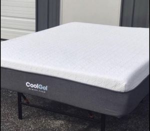 "New 12"" cool gel memory foam mattress Queen $260 KING $300 for Sale in Columbus, OH"