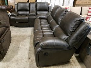 New Ashley furniture 2pc reclining set sofa and loveseat tax included free delivery for Sale in Hayward, CA