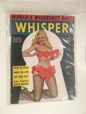 50's Whisper pin up Magazine beautiful condition for Sale in Los Angeles, CA