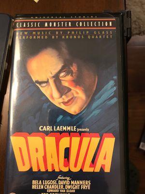 Classic Dracula movie with Bella Lugosi for Sale in Covina, CA