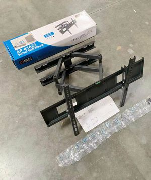 """New Universal Wall TV Mount Fits 32"""" to 65"""" TV Sizes Swivel Full Motion Tilt Heavy Duty Dual Arms for Sale in Pico Rivera, CA"""
