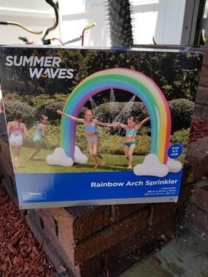 Summer waves rainbow arch kids sprinkler-NEW IN BOX- for Sale in Long Beach, CA