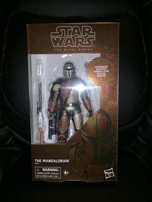 Mandalorian Carbonized Black Series Star Wars Action Figure Target Exclusive for Sale in Phoenix, AZ