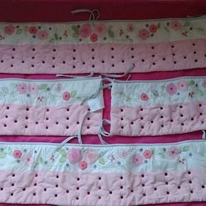 Girls Reversible Crib Bumpers for Sale in Pittsburgh, PA
