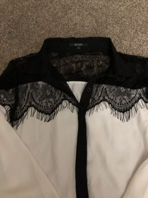 Women's sheer business shirt size L for Sale in Schenectady, NY