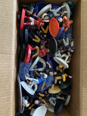 NFL collectible happy meal toys. Full Set + unopened extras for Sale in Fresno, CA