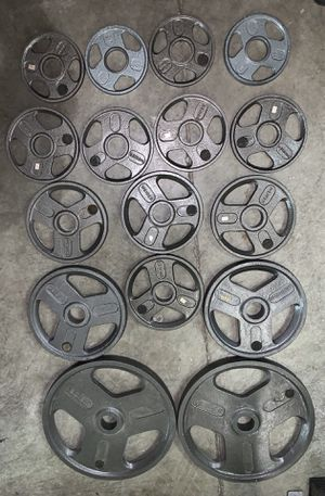 Olympic weight plates for Sale in Kent, WA
