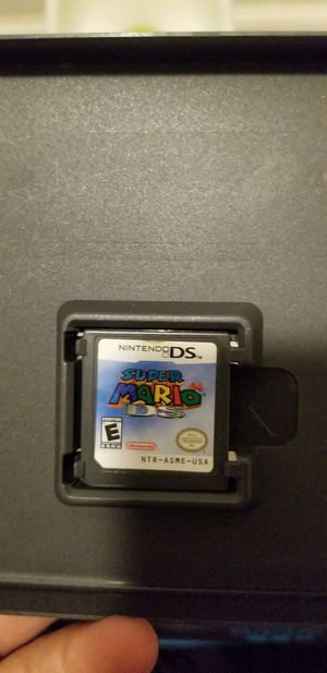 Super Mario Ds Nintendo Ds Cart ONLy for Sale in Los Angeles, CA